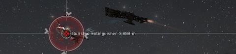 Loki versus null-sec rat battleship