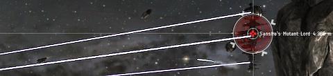 Popping a Sansha battleship rat in null-sec
