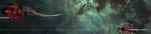 Engaging a battleship rat in null-sec