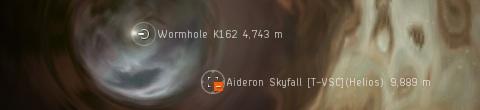 Orange helios passes me on the low-sec K162